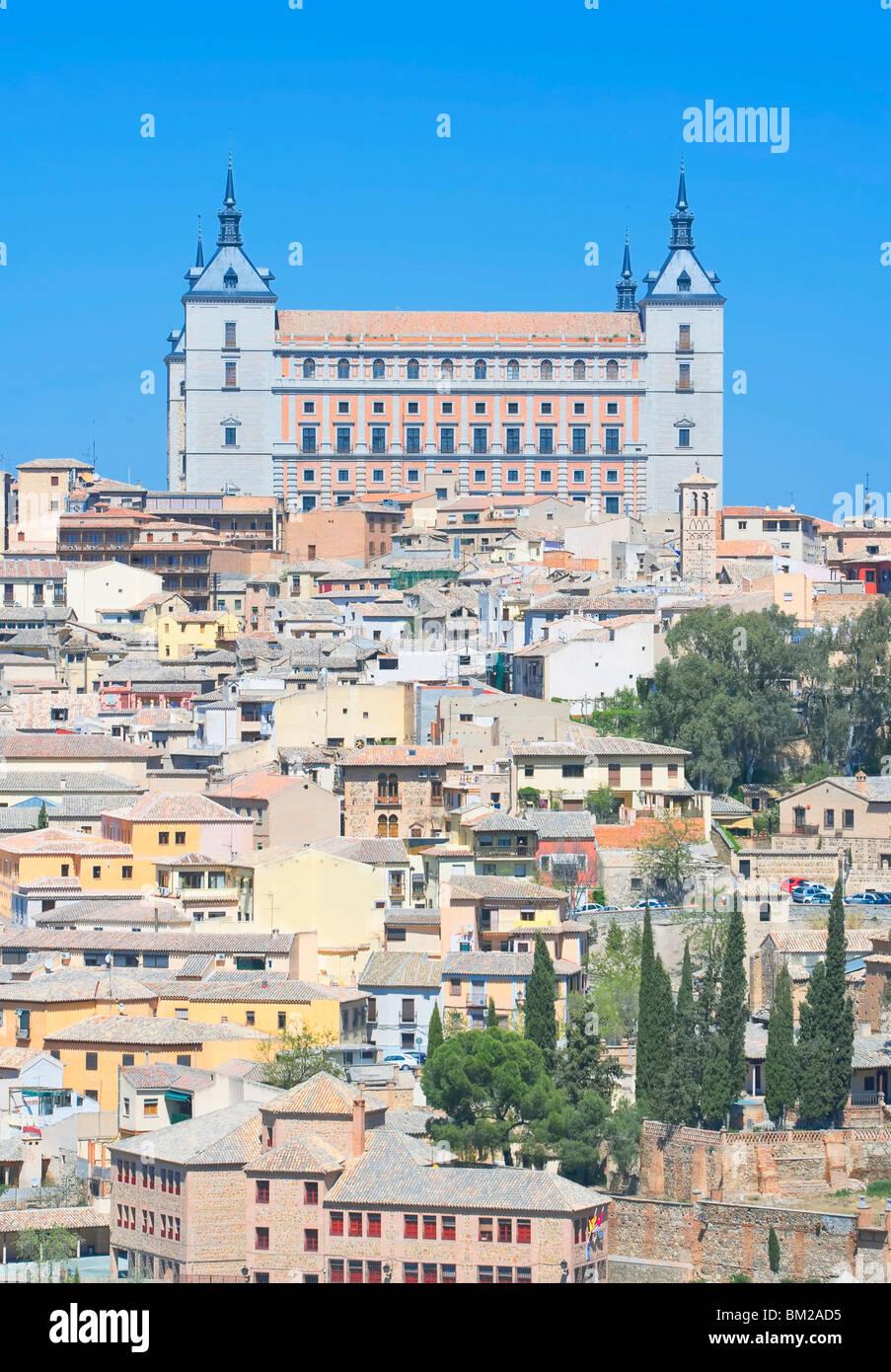 Toledo Stadtbild, Toledo, UNESCO-Weltkulturerbe, Castilla La Mancha, Spanien Stockbild