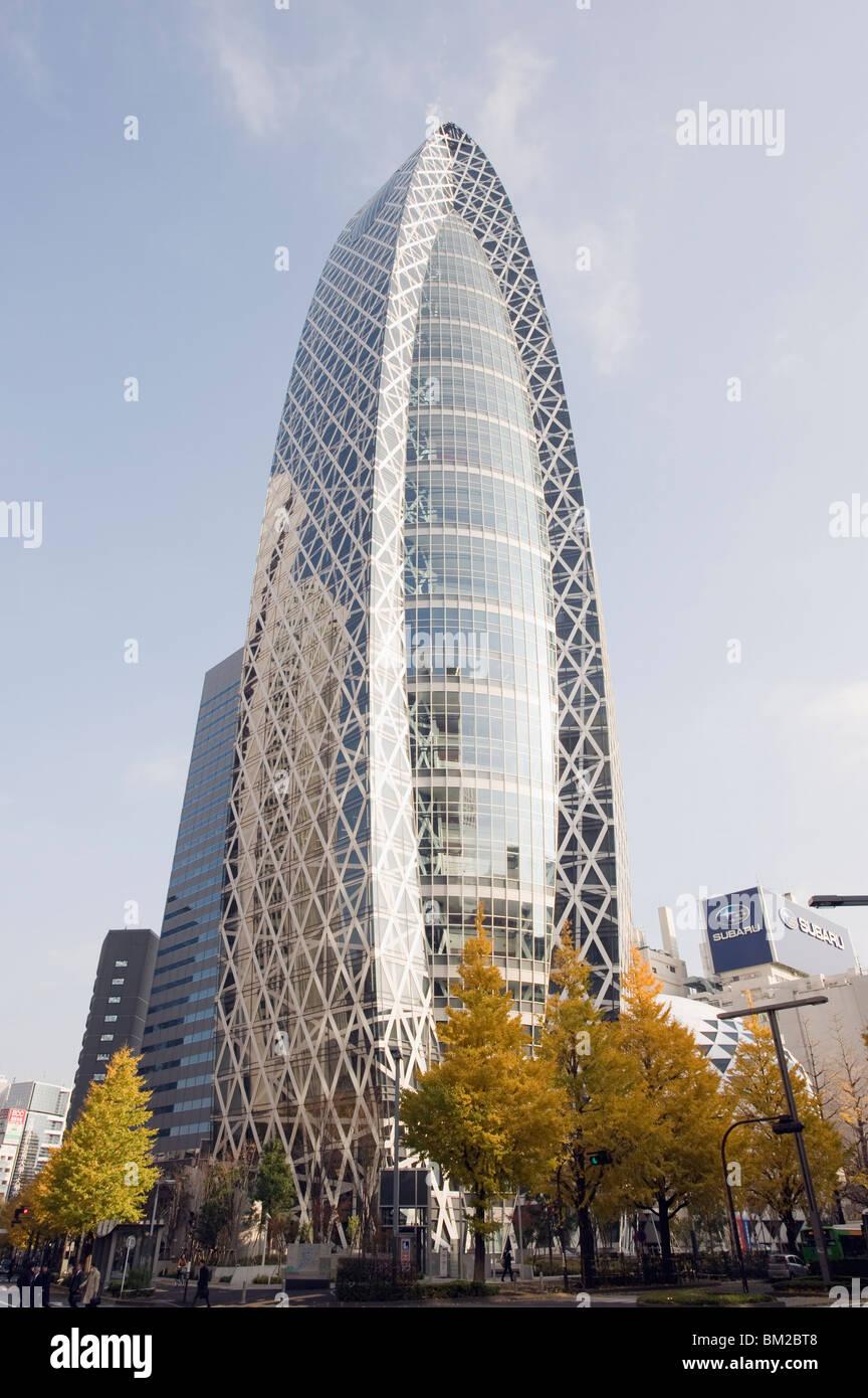 Tokyo Mode Gakuen Cocoon Tower, Design Schulgebäude, Shinjuku, Tokio, Japan Stockbild