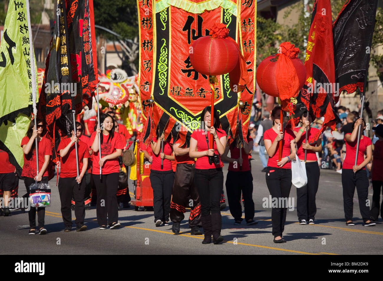 Chinese New Year Banners Stockfotos & Chinese New Year Banners ...