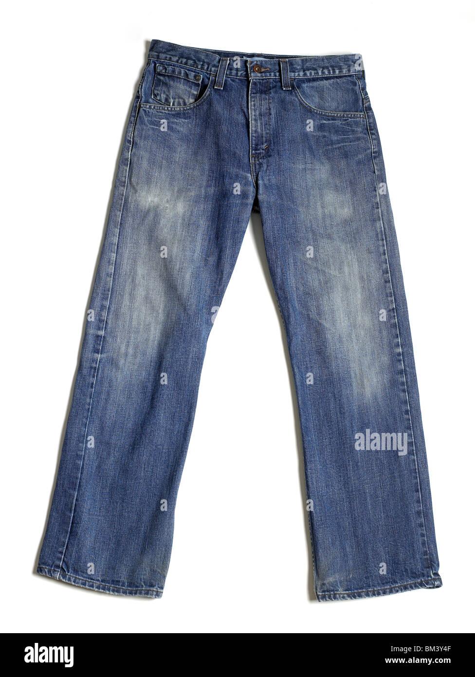 Blaue jeans Stockfoto