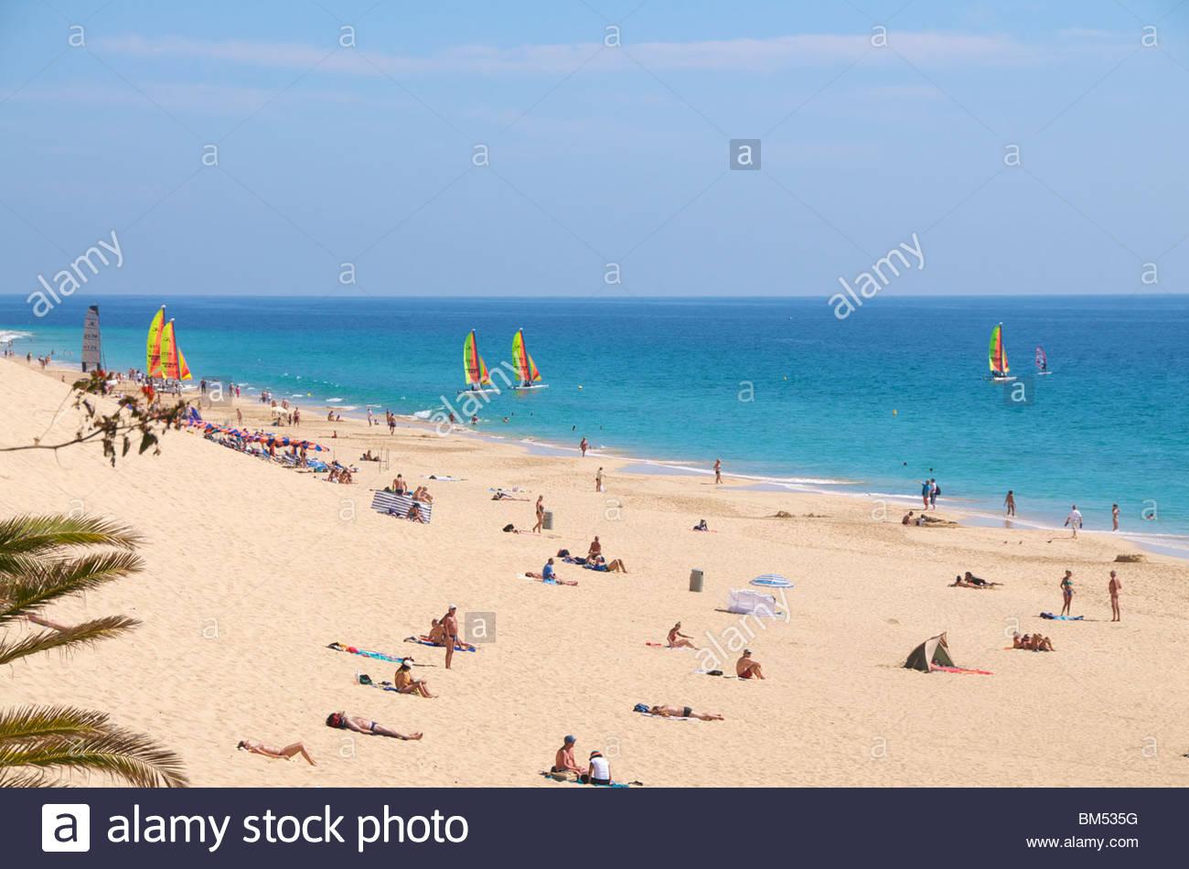 Jandia Fuerteventura-Kanarische Inseln-Spanien Stockbild