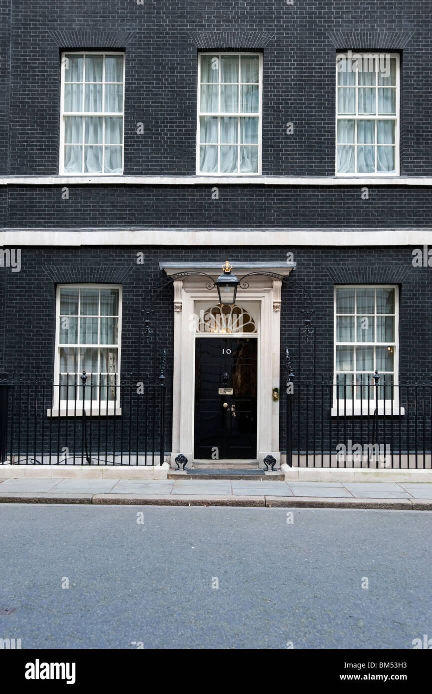 10 Downing Street, London, England, Großbritannien Stockbild