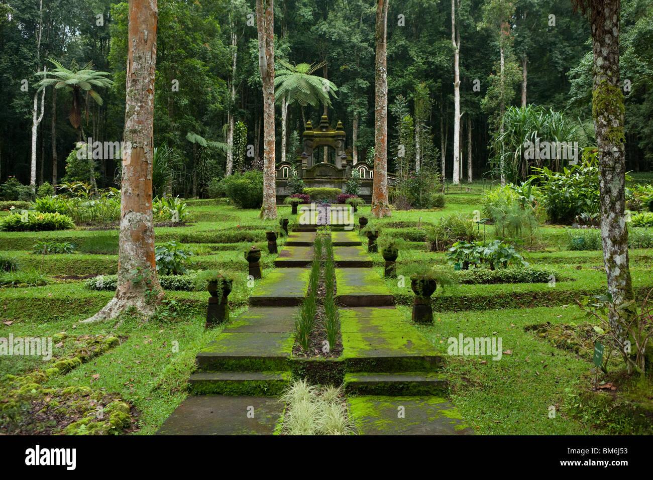 Bali Botanischer Garten Candikuning, Bali, Indonesien Stockbild