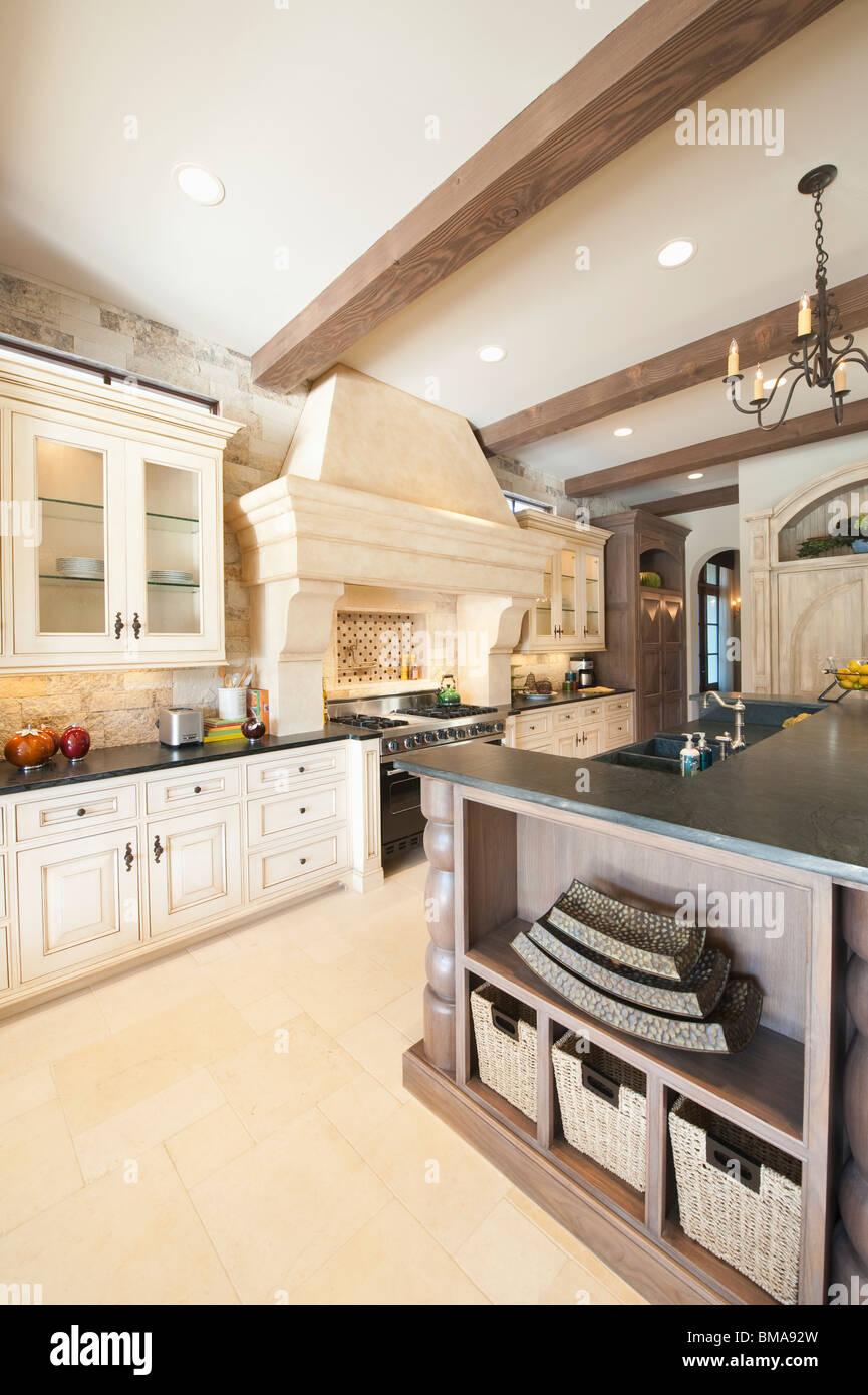 Küche American Style | American Style Kitchen Stockfotos American Style Kitchen Bilder