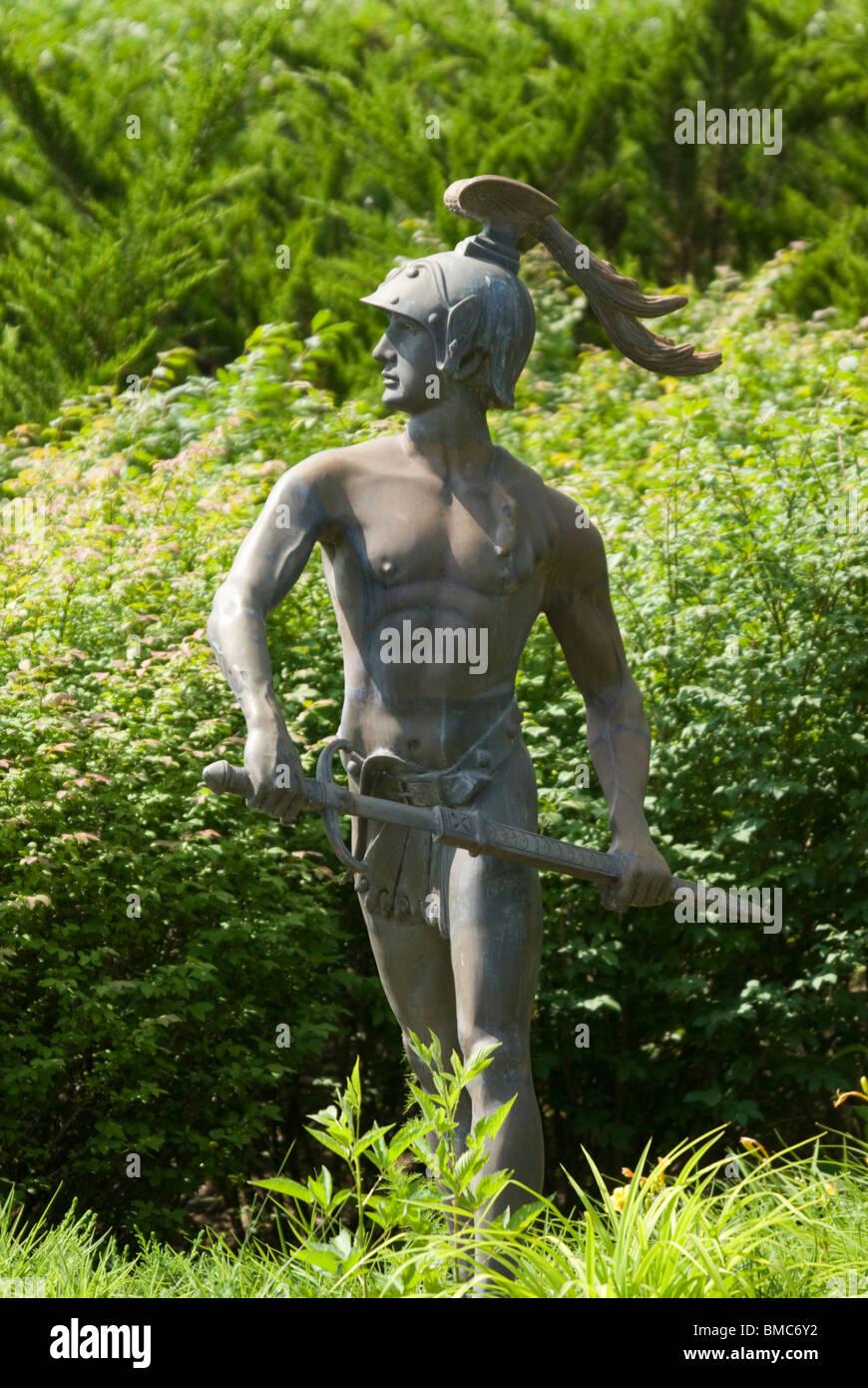 Statuen im Barber Motorsports Park, Birmingham, Alabama, USA Stockbild