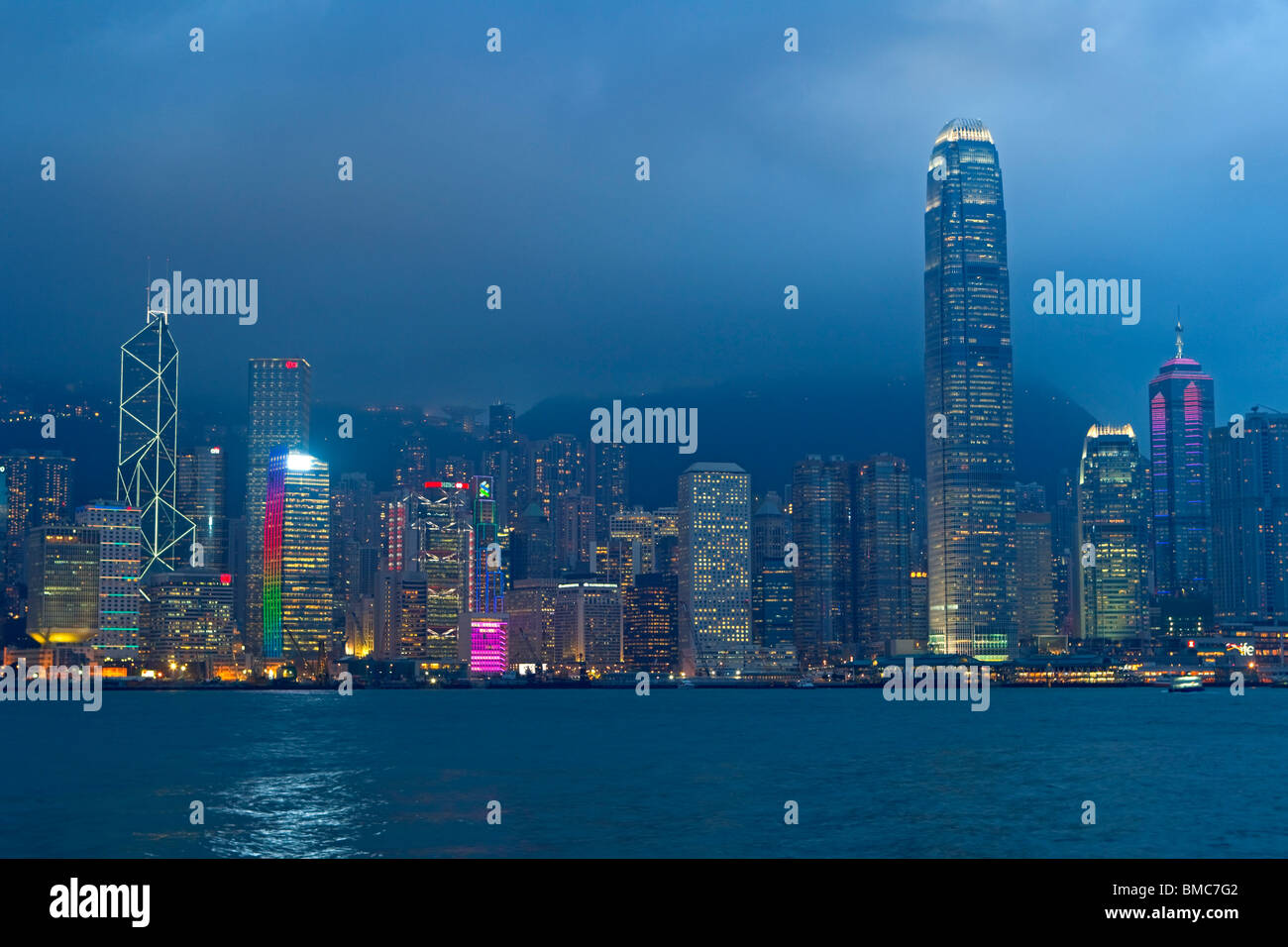 Central Business District, Hong Kong, SAR China Stockbild
