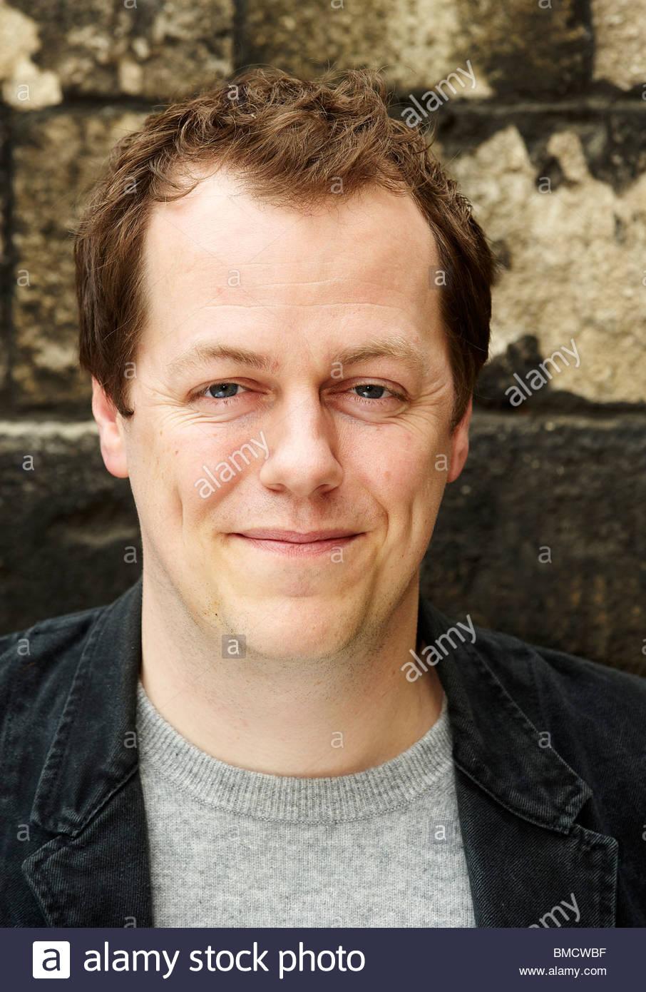 Tom Parker Bowles, Food-Autor und Kommentator in Christchurch College in Oxford an der Oxford-Literaturfestival Stockfoto
