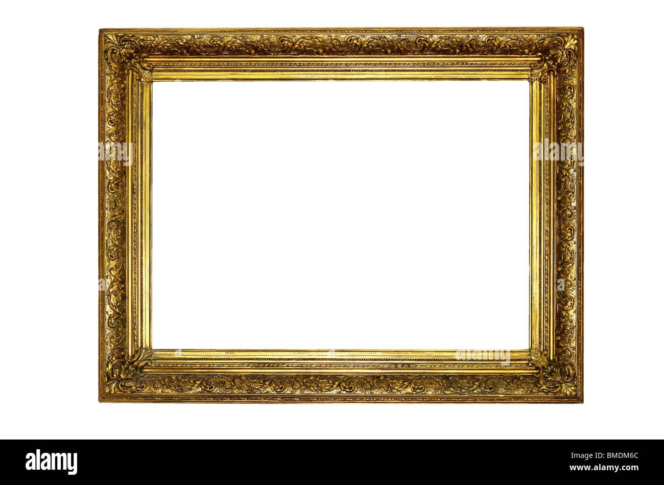Gold Bilderrahmen im Renaissance-Stil Stockfoto, Bild: 29804724 - Alamy