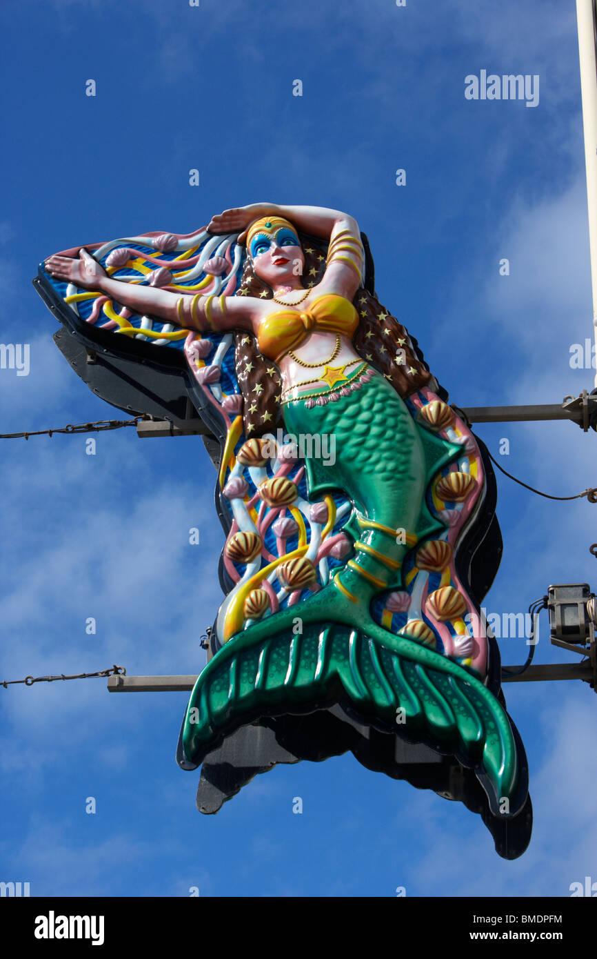 Blackpool Beleuchtung Licht während tagsüber Blackpool Pleasure Beach Lancashire England uk Stockbild