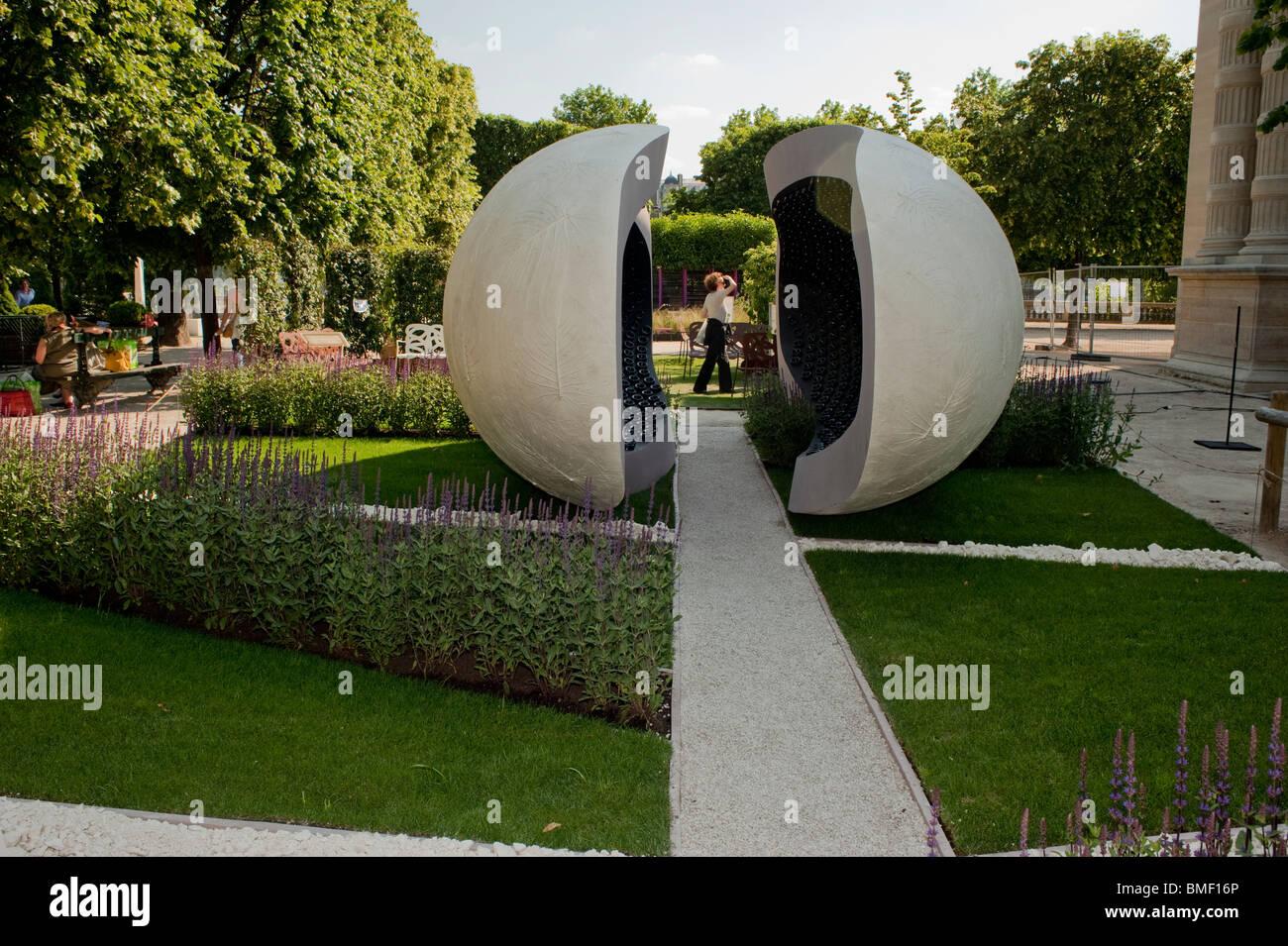 Paris, Frankreich, Gartenfestival, Jardin des Tuileries ...
