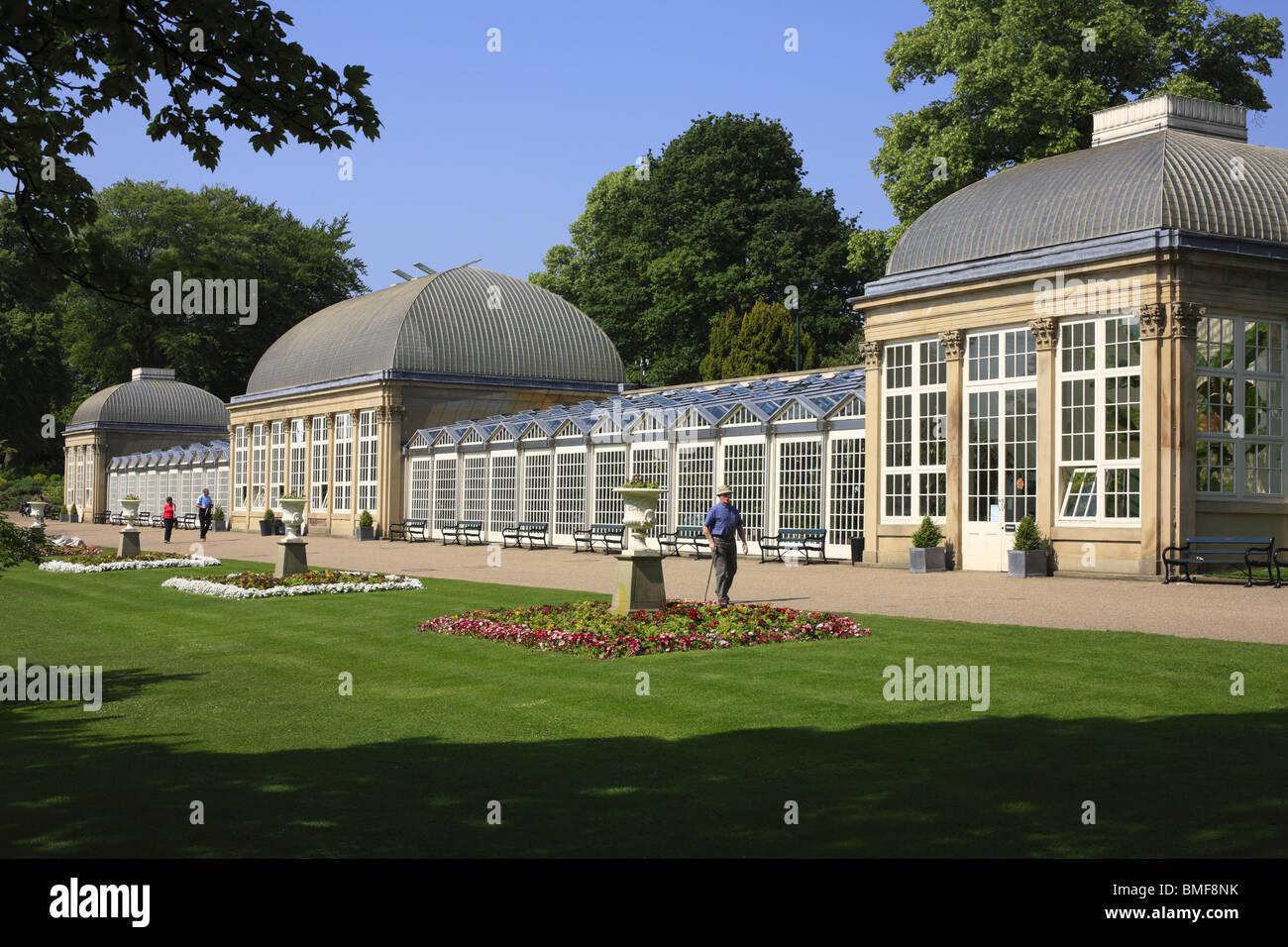 Sheffield Botanical Gardens Stockbild