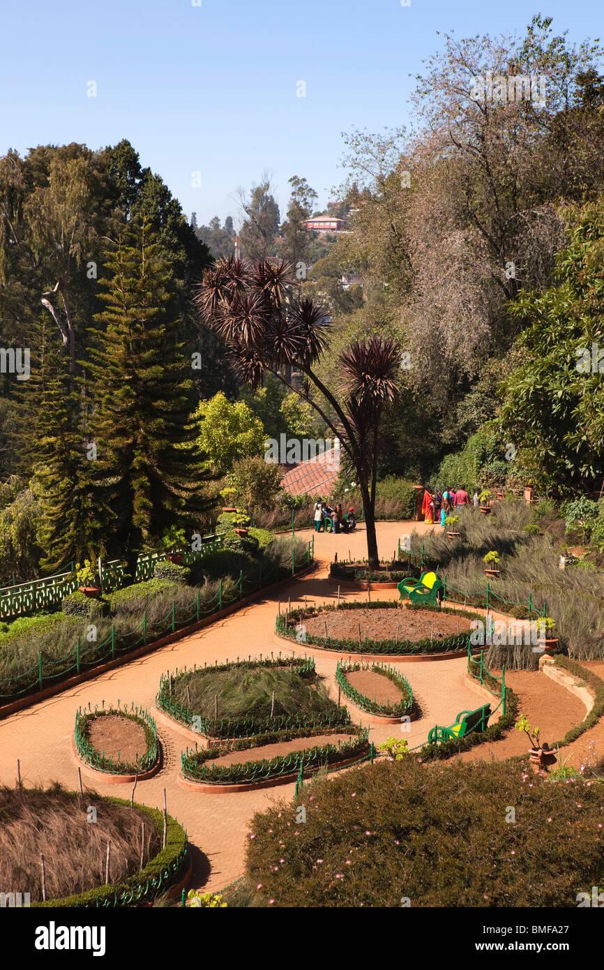 Indien Tamil Nadu Udhagamandalam Ooty Botanischer Garten