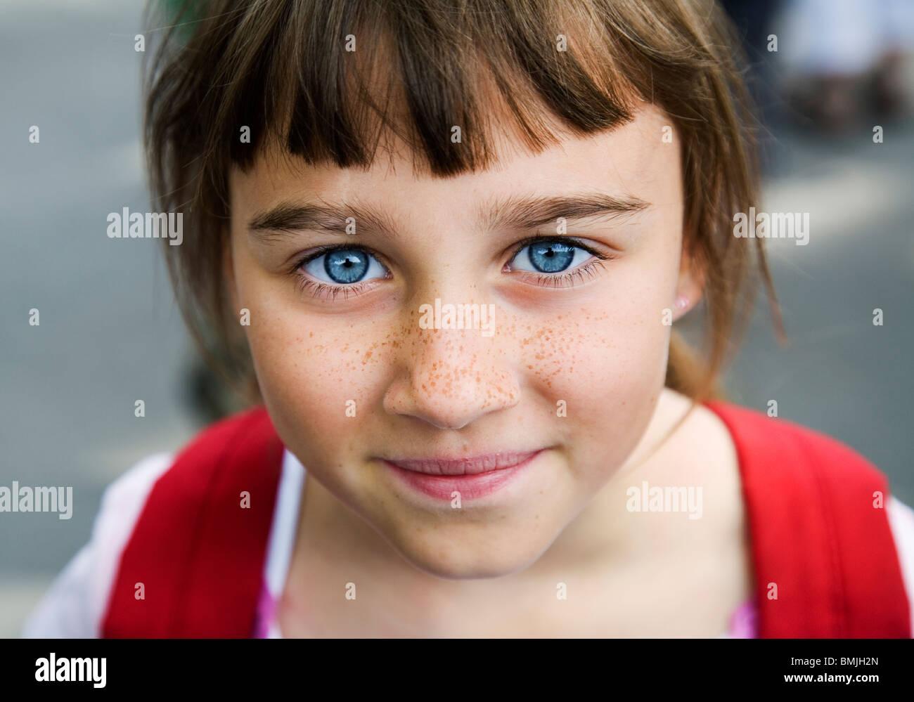 Haar braune augen lied schwarzes Kostenlose foto