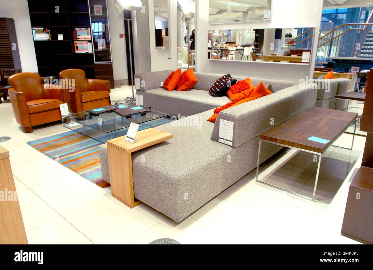 Furniture Shop Interior Stockfotos & Furniture Shop Interior Bilder ...