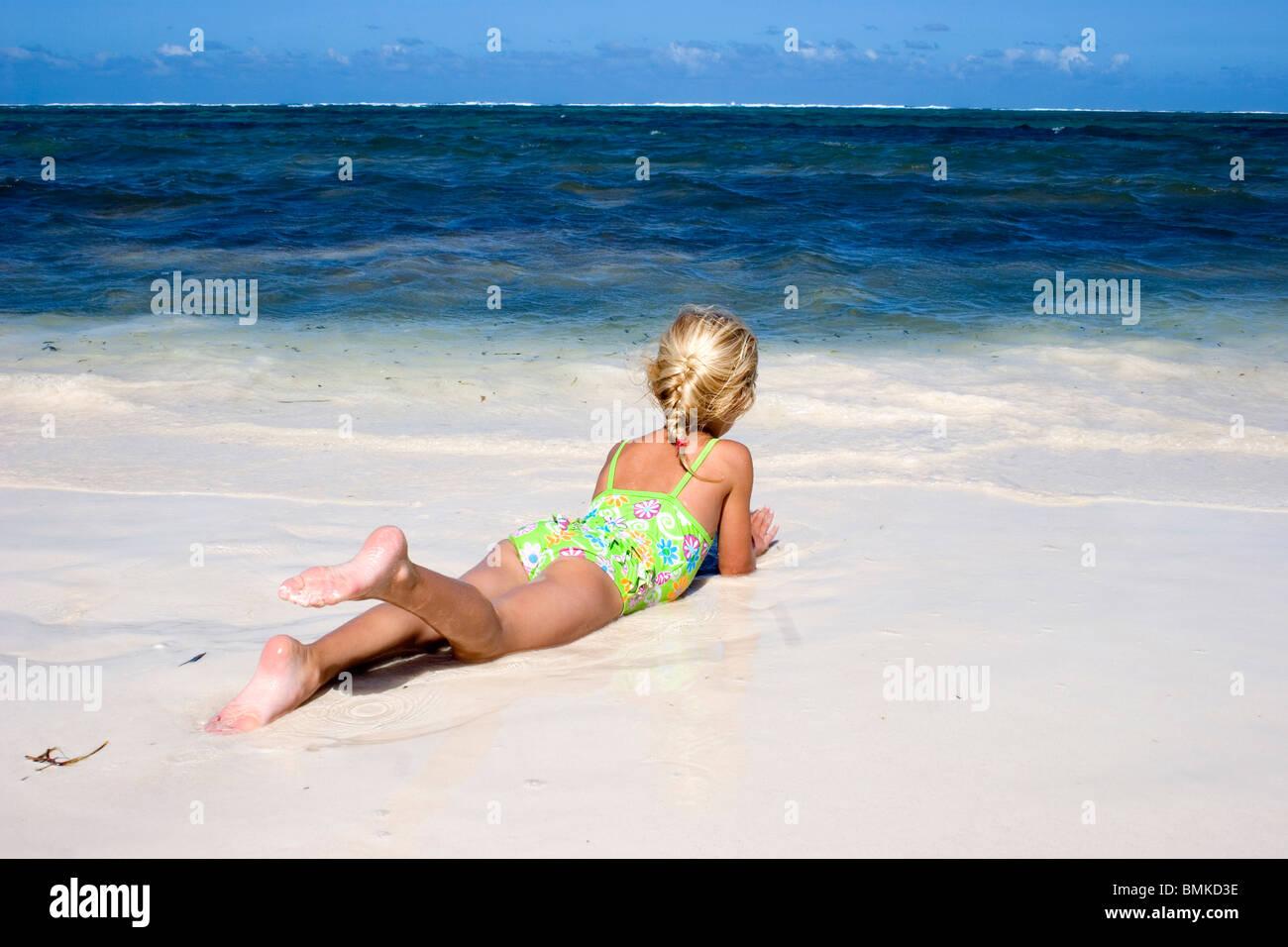 Am strand beobachtet