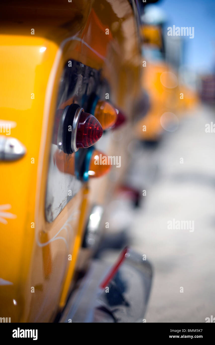 Detail eines Busses in Malta Stockbild