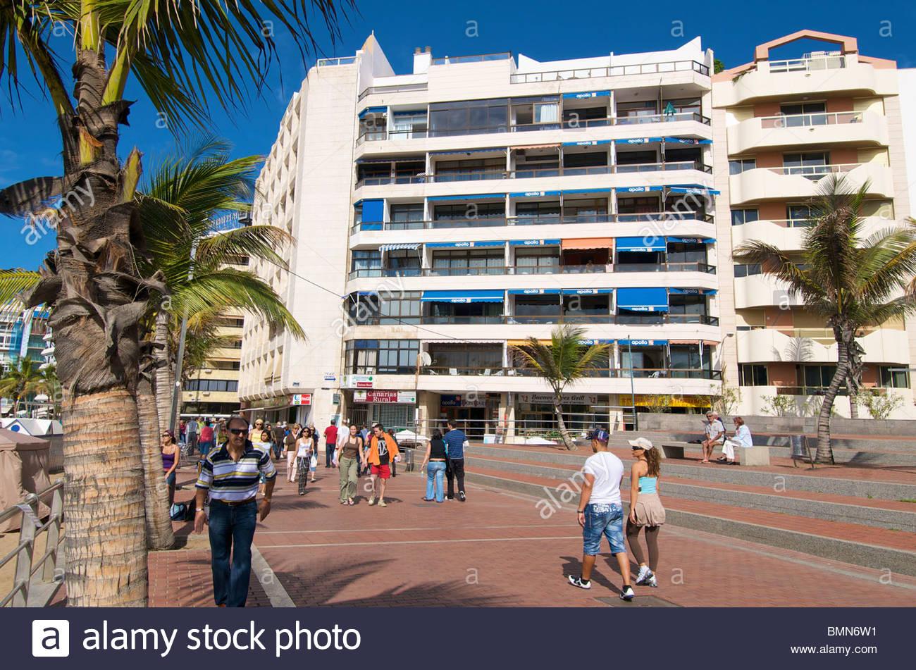 Don Carlos Hotel Las Palmas Kanaren Gran Canaria Spanien Stockfoto