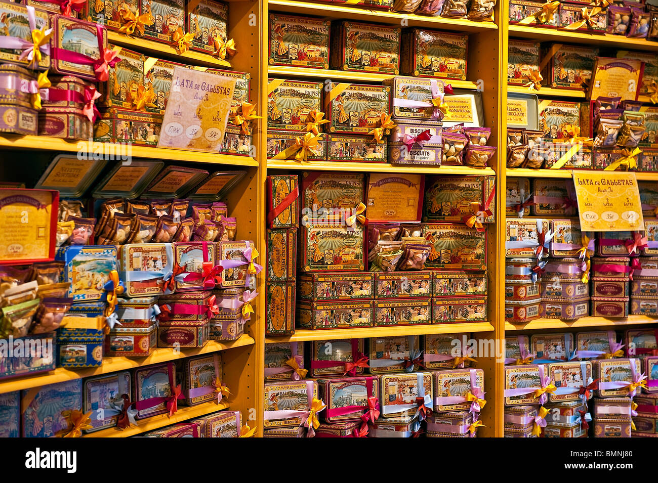 La Cure Gourmande, Madrid, Spanien Stockbild