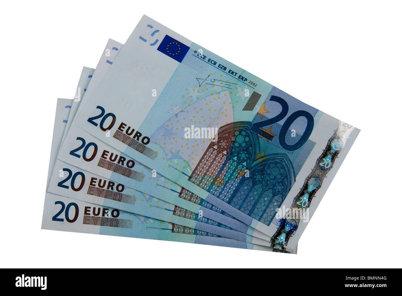 20 euro rechnung stockfotos 20 euro rechnung bilder alamy. Black Bedroom Furniture Sets. Home Design Ideas