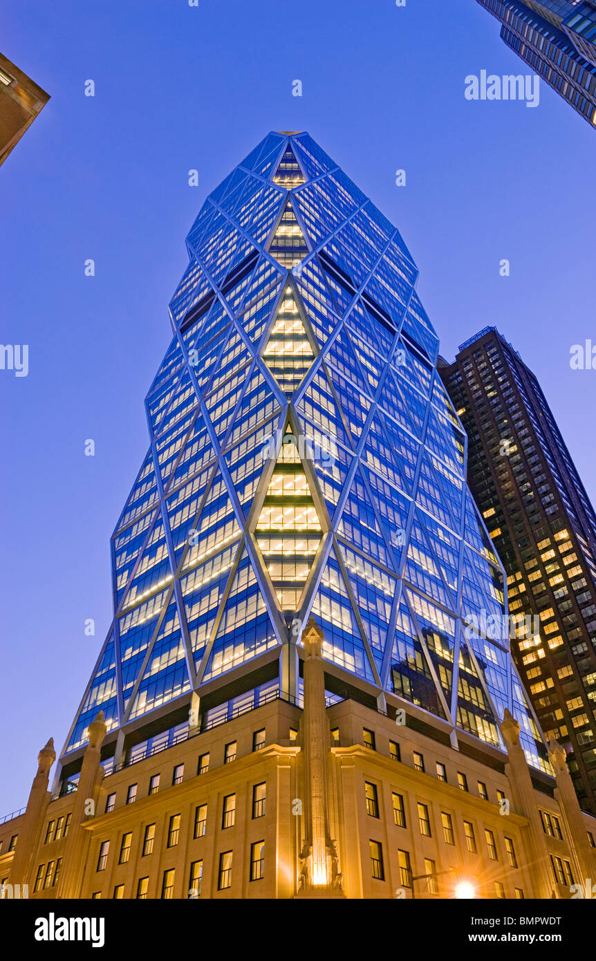 Hearst Tower, Norman Foster Architekt, New York City. Stockbild