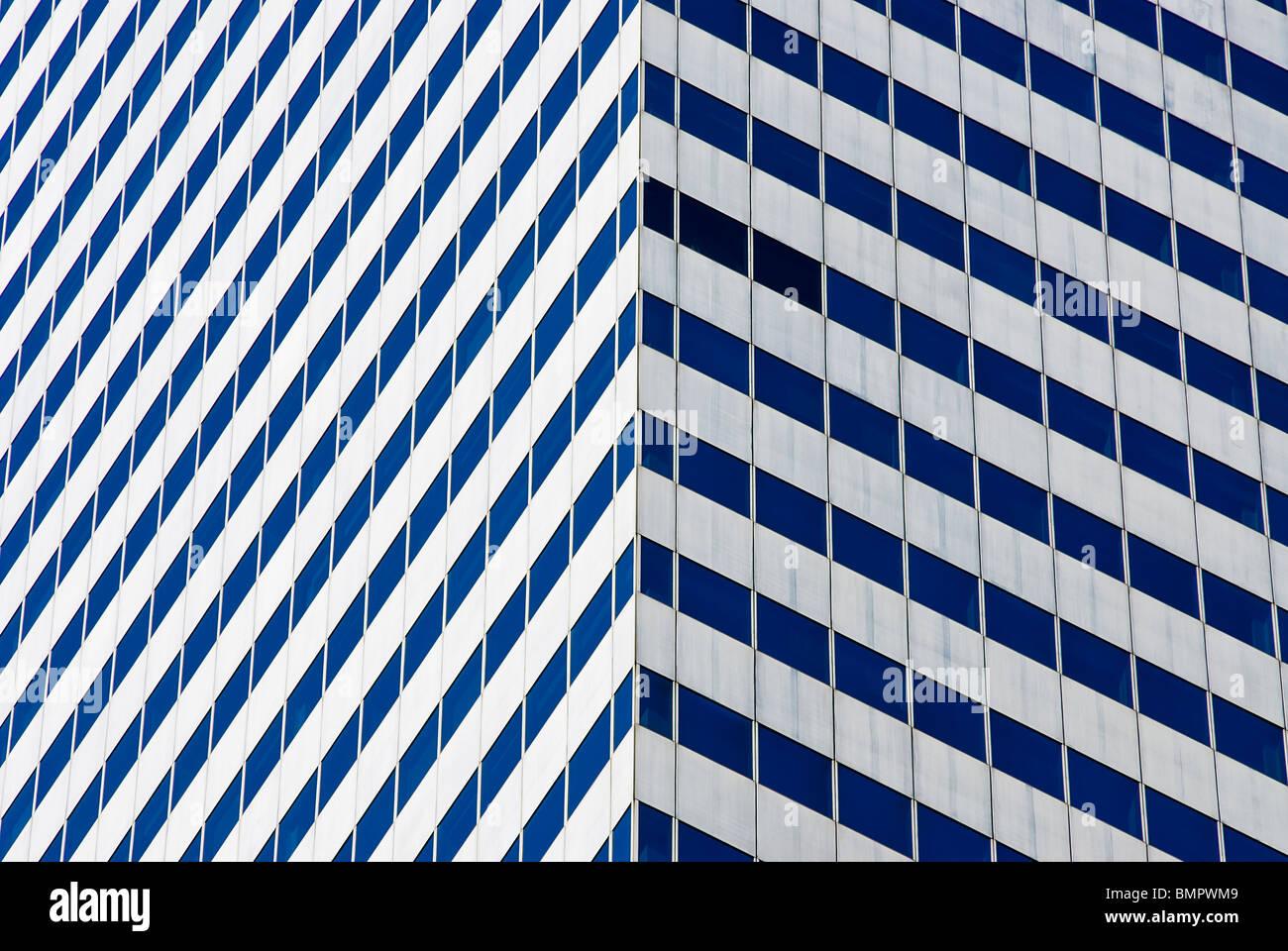 Die Citicorp Center, Detail, New York City. Stockbild