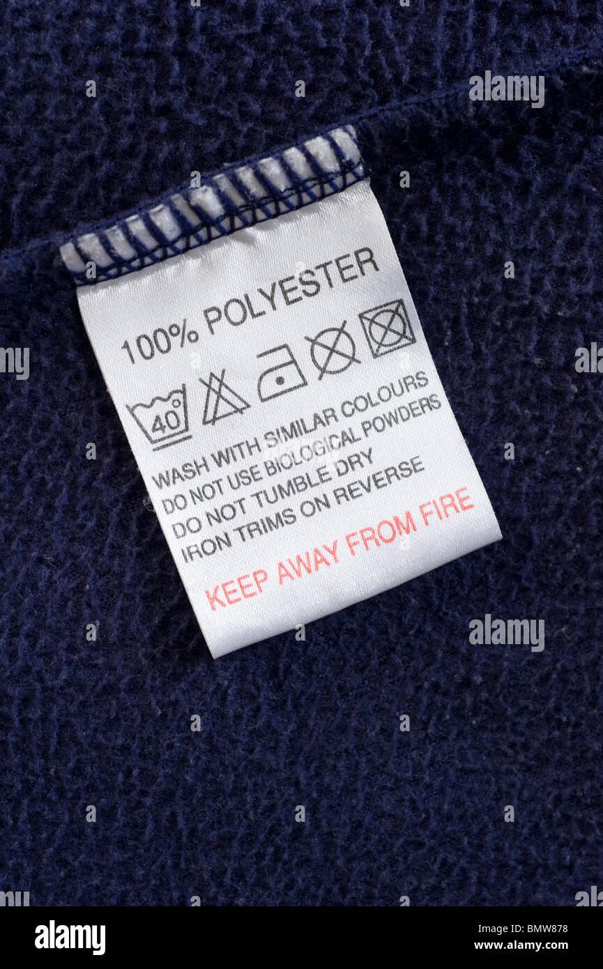 wash care label stockfotos wash care label bilder alamy. Black Bedroom Furniture Sets. Home Design Ideas