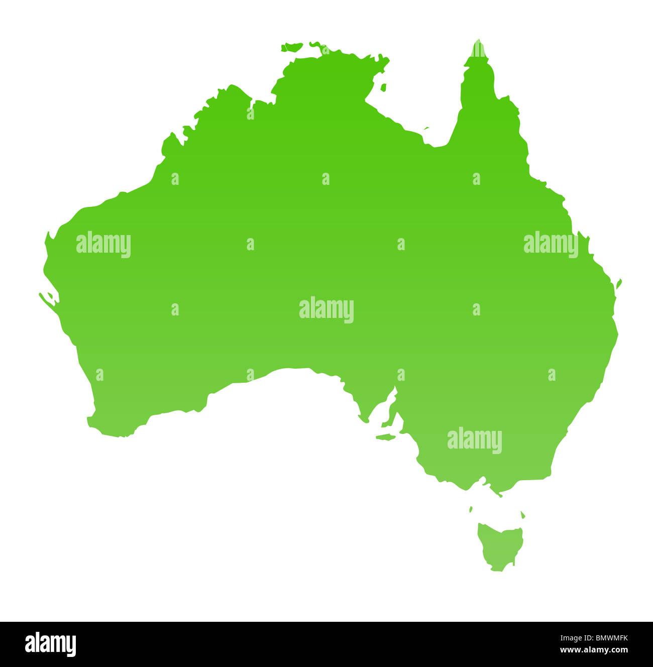 Australien Karte Stockfotos Australien Karte Bilder Alamy