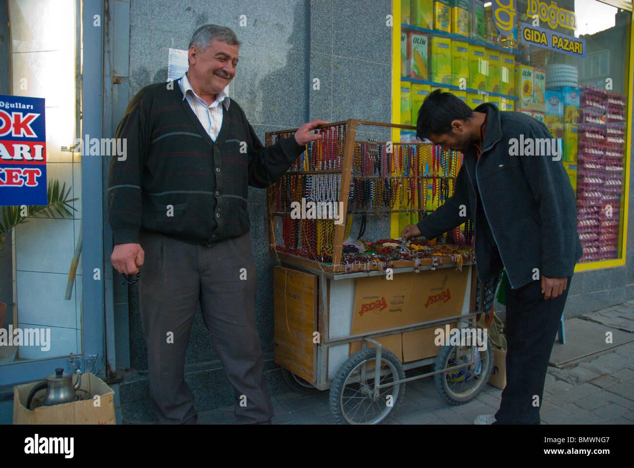 Sorge Wulst Verkäufer Afyon westlichen Anatolien Türkei Zentralasien Stockbild