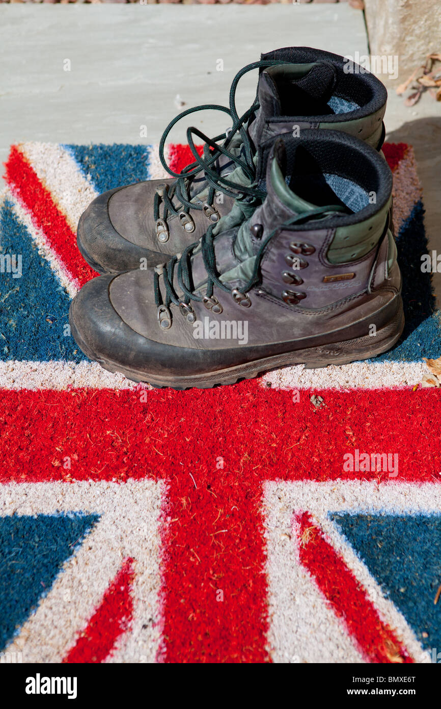 Well Used Boots Stockfotos & Well Used Boots Bilder Alamy