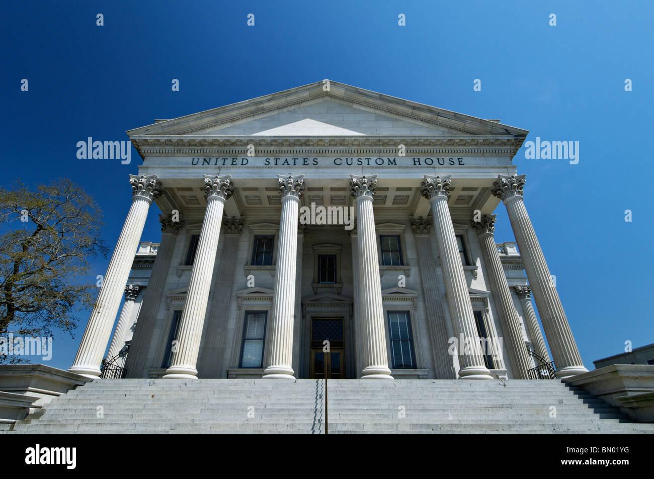 Vereinigten Staaten Zollhaus in Charleston, South Carolina Stockbild