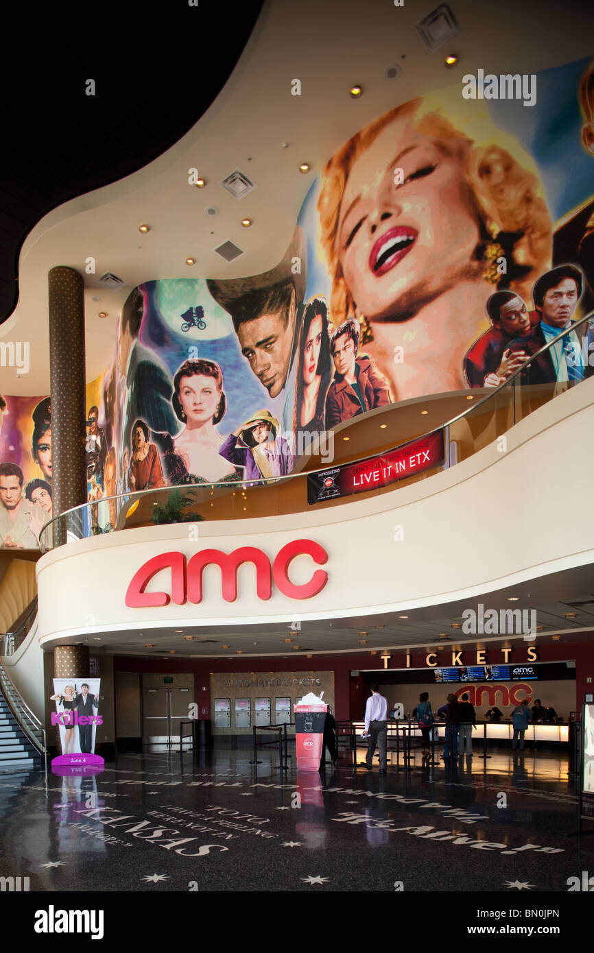 Amc Theatres Garden State Amc Garden State 16 In Paramus Nj Cinema Treasures Amc Stockfotos