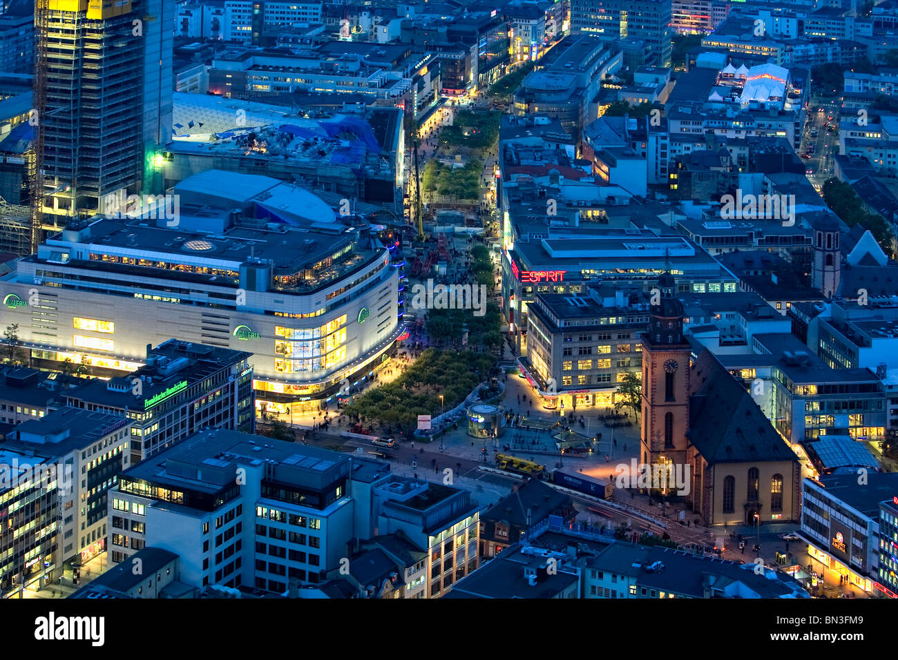 Germany Frankfurt Am Main Zeil Stockfotos & Germany Frankfurt Am ...