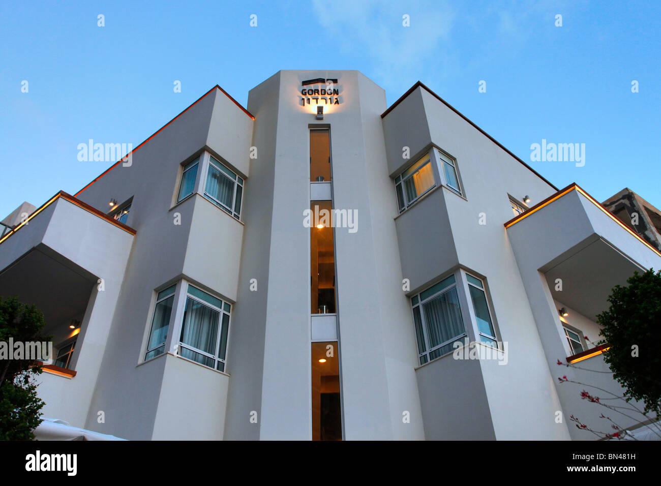 Bauhausstil Architektur ein altes gebäude im stil der bauhaus architektur in der gordon