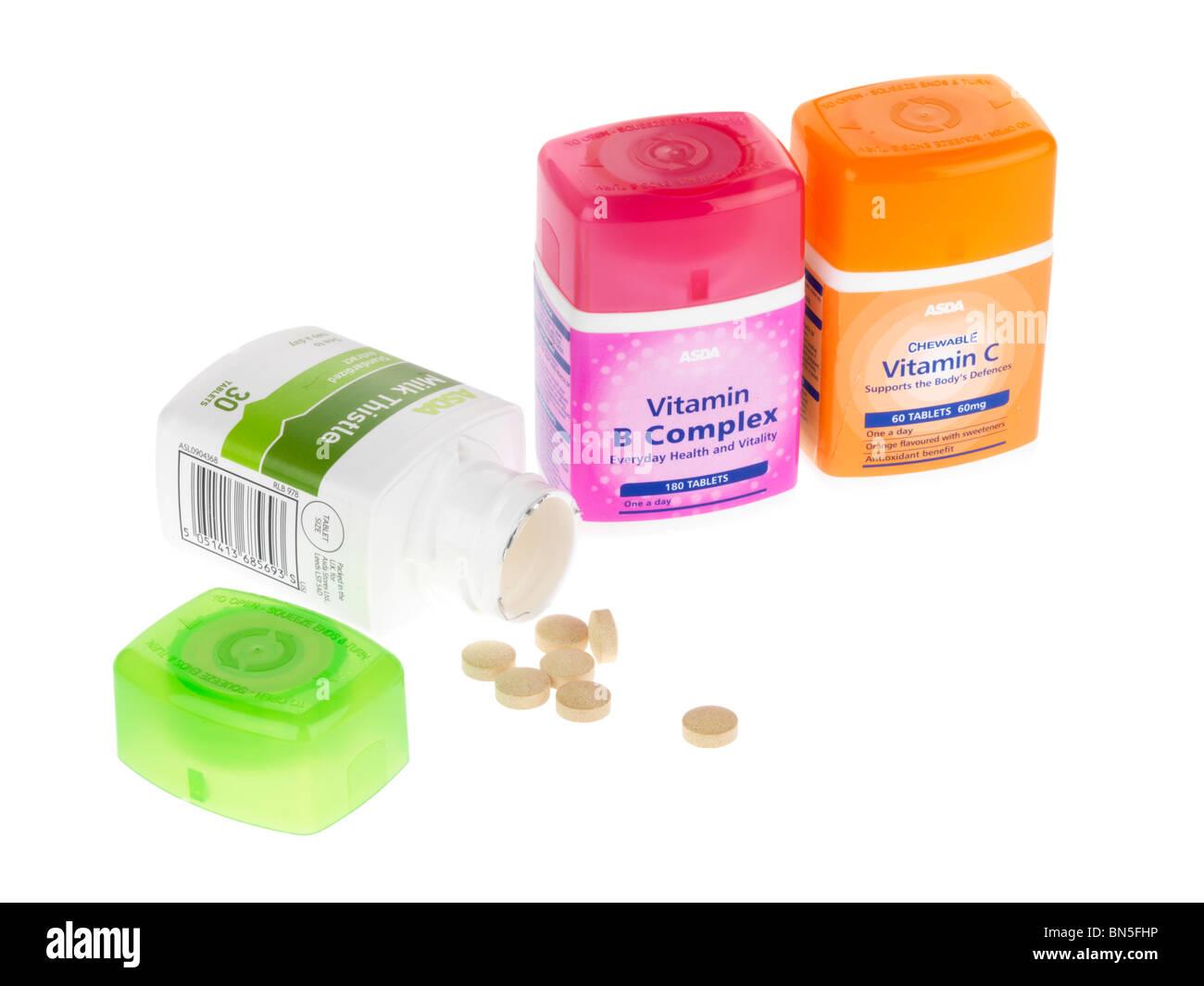 Vitamine Stockbild