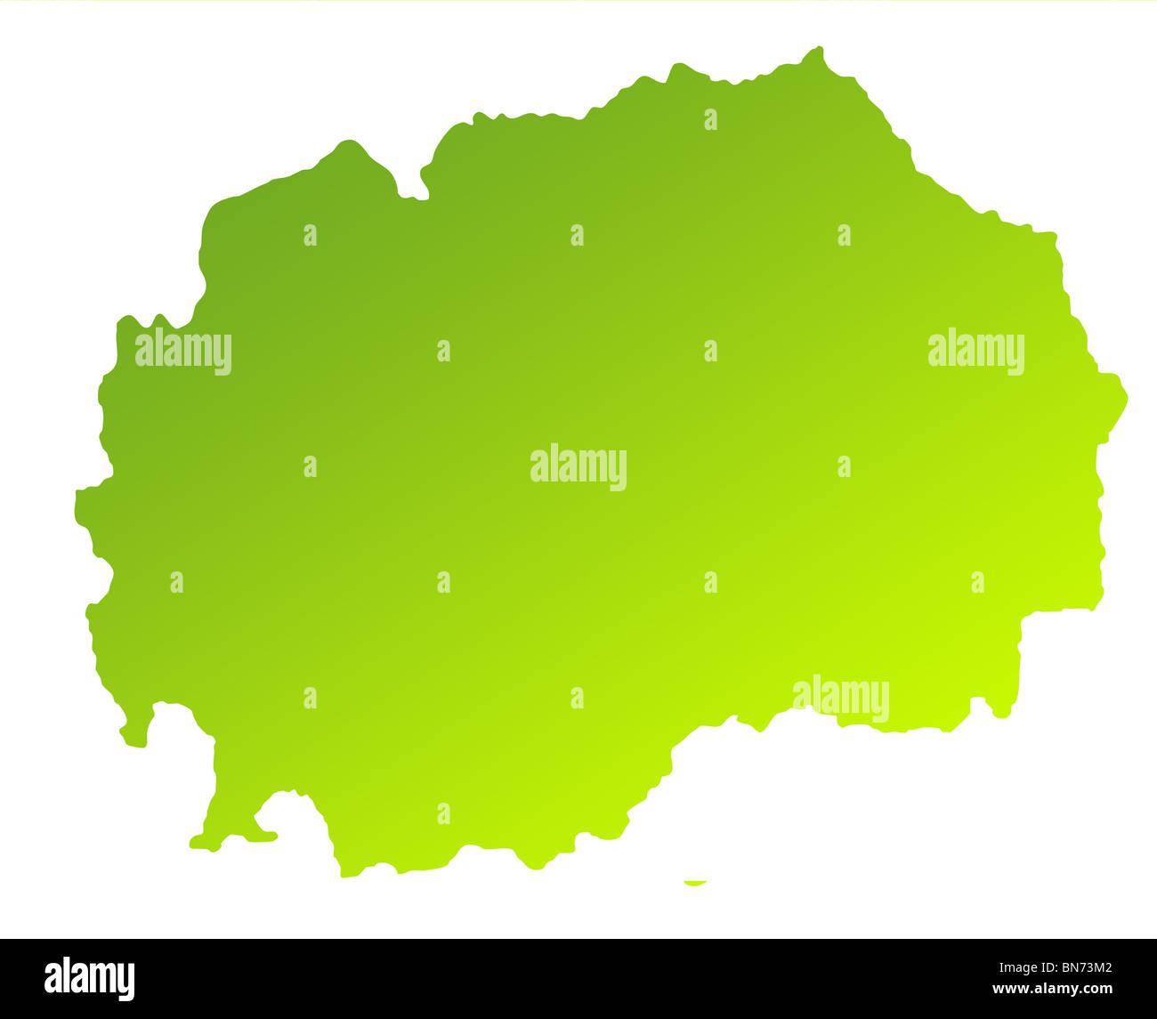 Grune Karte Mazedonien.Karte Von Mazedonien Stockfotos Karte Von Mazedonien