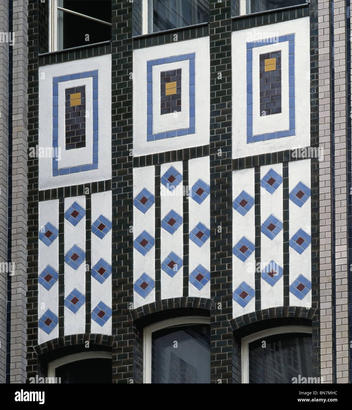 Fliesen Im Hackeschen Hofe Berlin Deutschland 1920er Jahre Hof Mit