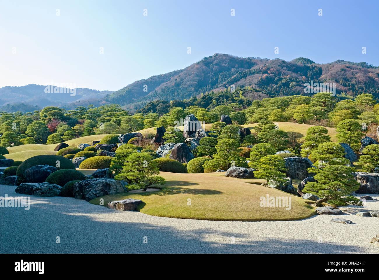 trockene landschaft japanischer garten pr fektur shimane stockfoto bild 30339445 alamy. Black Bedroom Furniture Sets. Home Design Ideas
