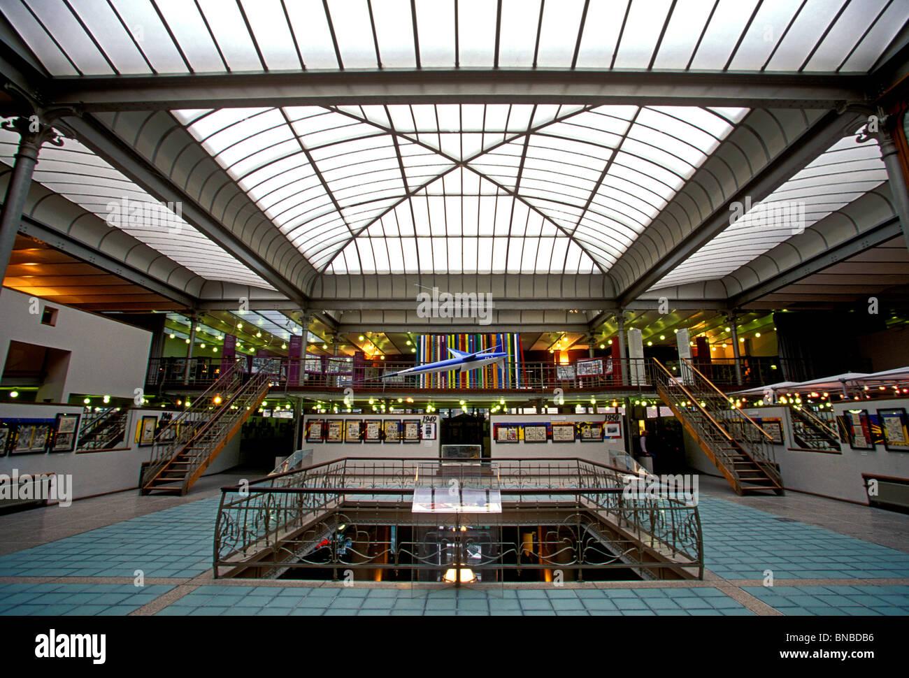 Belgische Comic Strip Center, Brüssel, Region Brüssel-Hauptstadt, Belgien Stockbild
