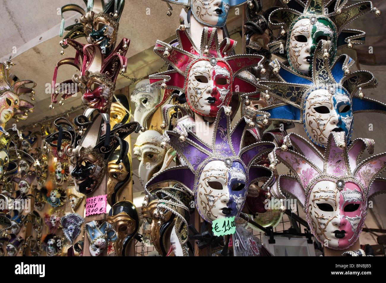 kleinen venezianischen Spezialitäten Masken Stockbild