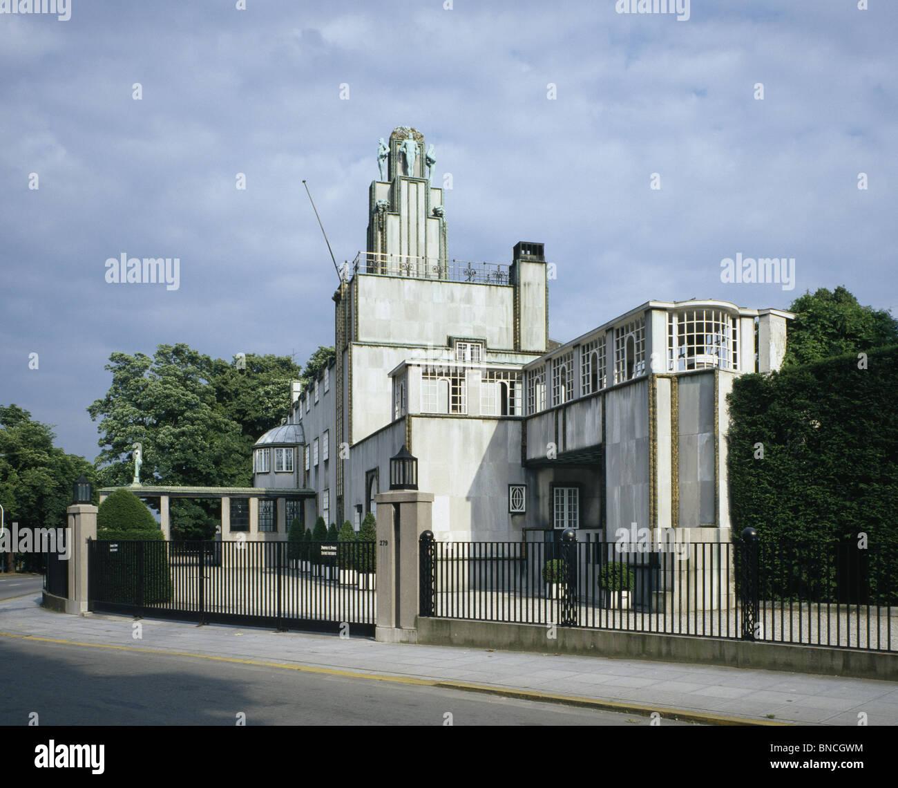 Das palais stoclet in br ssel von josef hoffmann wiener secession architekt designer entworfen - Hoffmann architekt ...