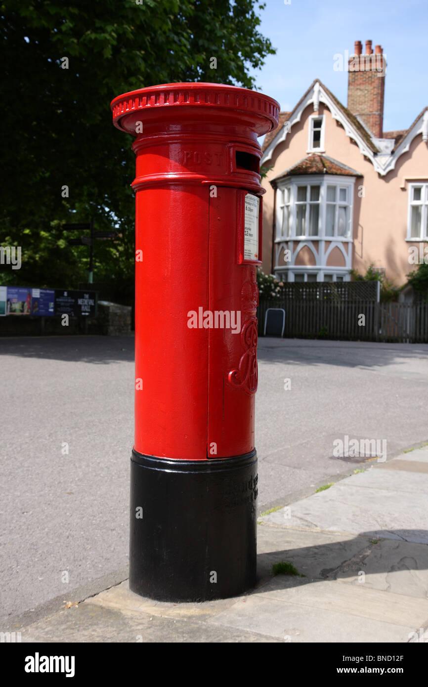 Englischer Briefkasten Stockfoto Bild 30404375 Alamy