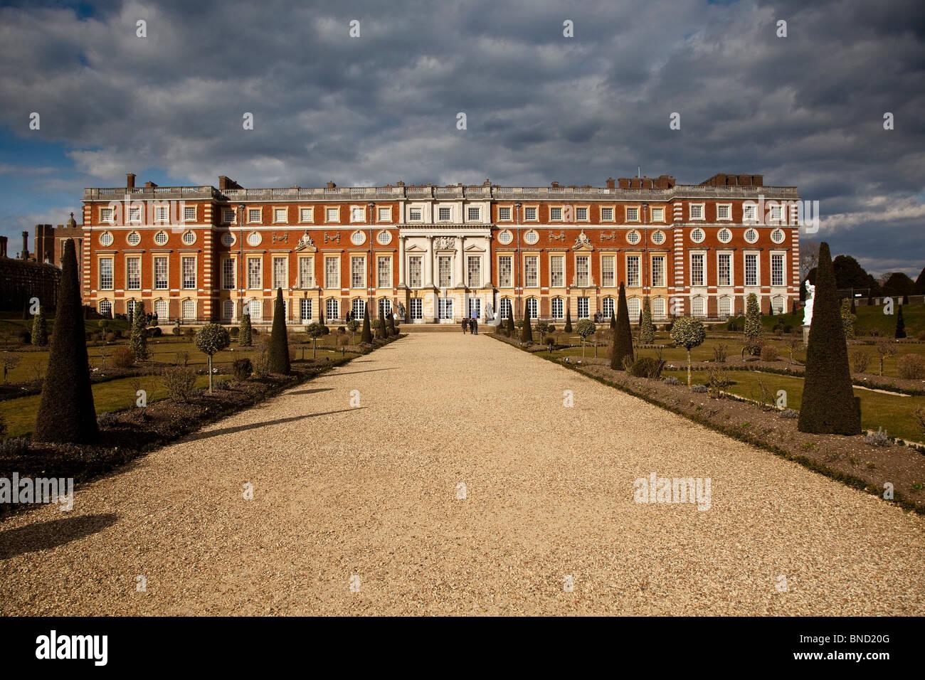 Hampton Court Palace, Surrey Stockbild