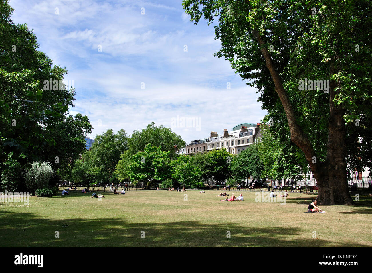 Lincoln es Inn Fields, Holborn, London Borough of Camden, Greater London, England, Vereinigtes Königreich Stockfoto