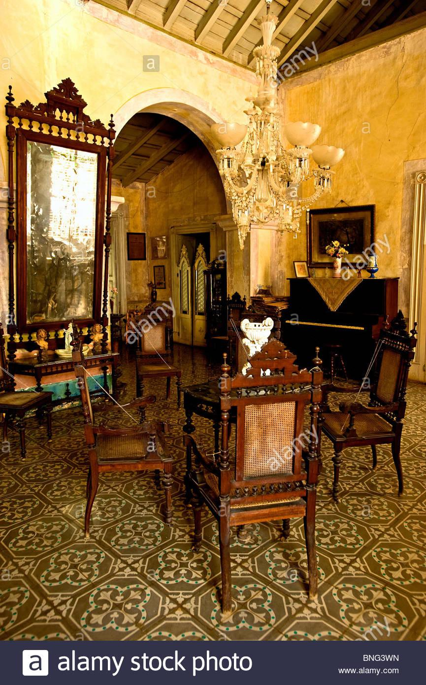 Casa Meyer, Gästehaus, Trinidad, Kuba Stockbild