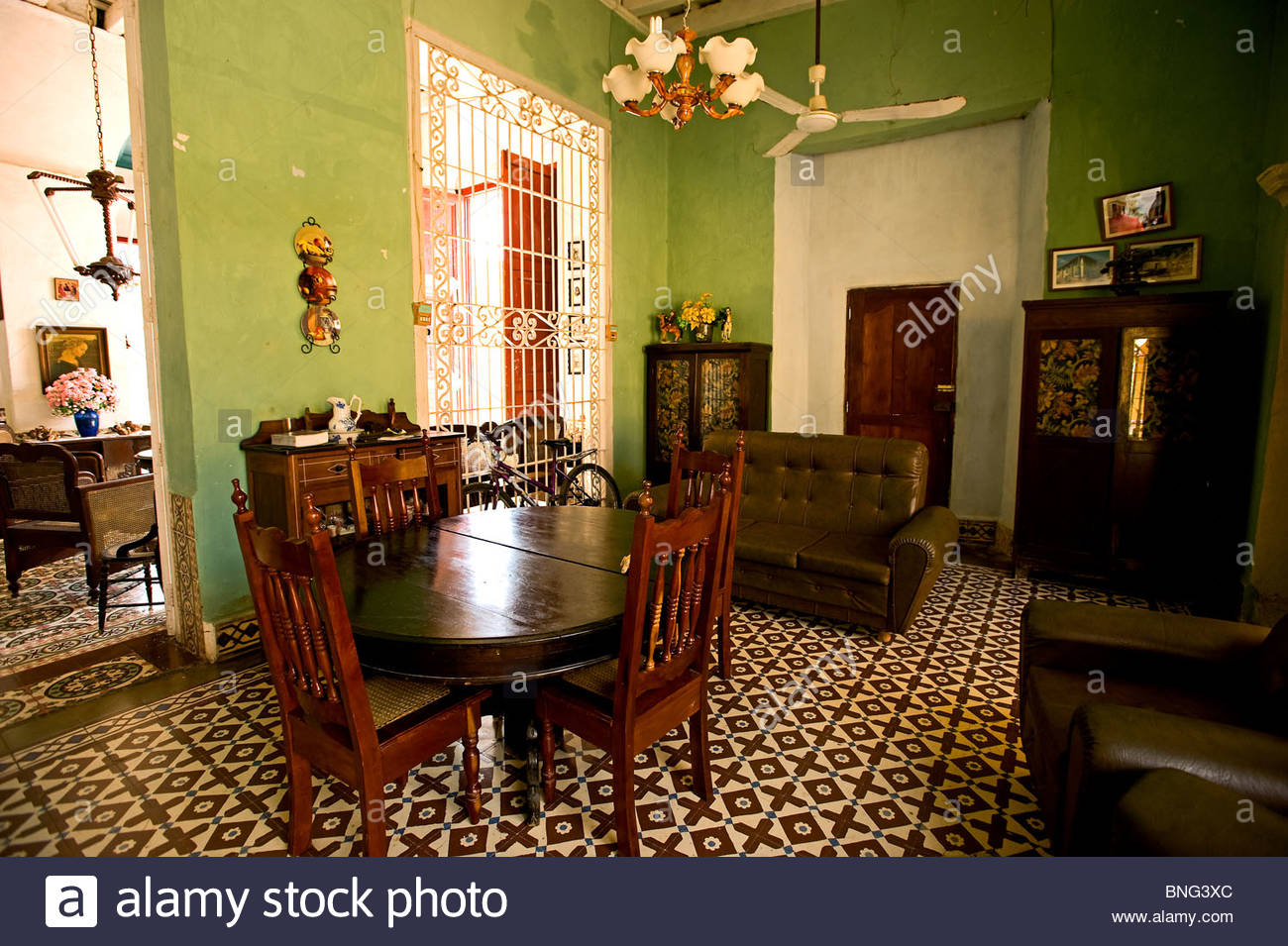 Casa Munoz, Gästehaus, Trinidad, Kuba Stockbild