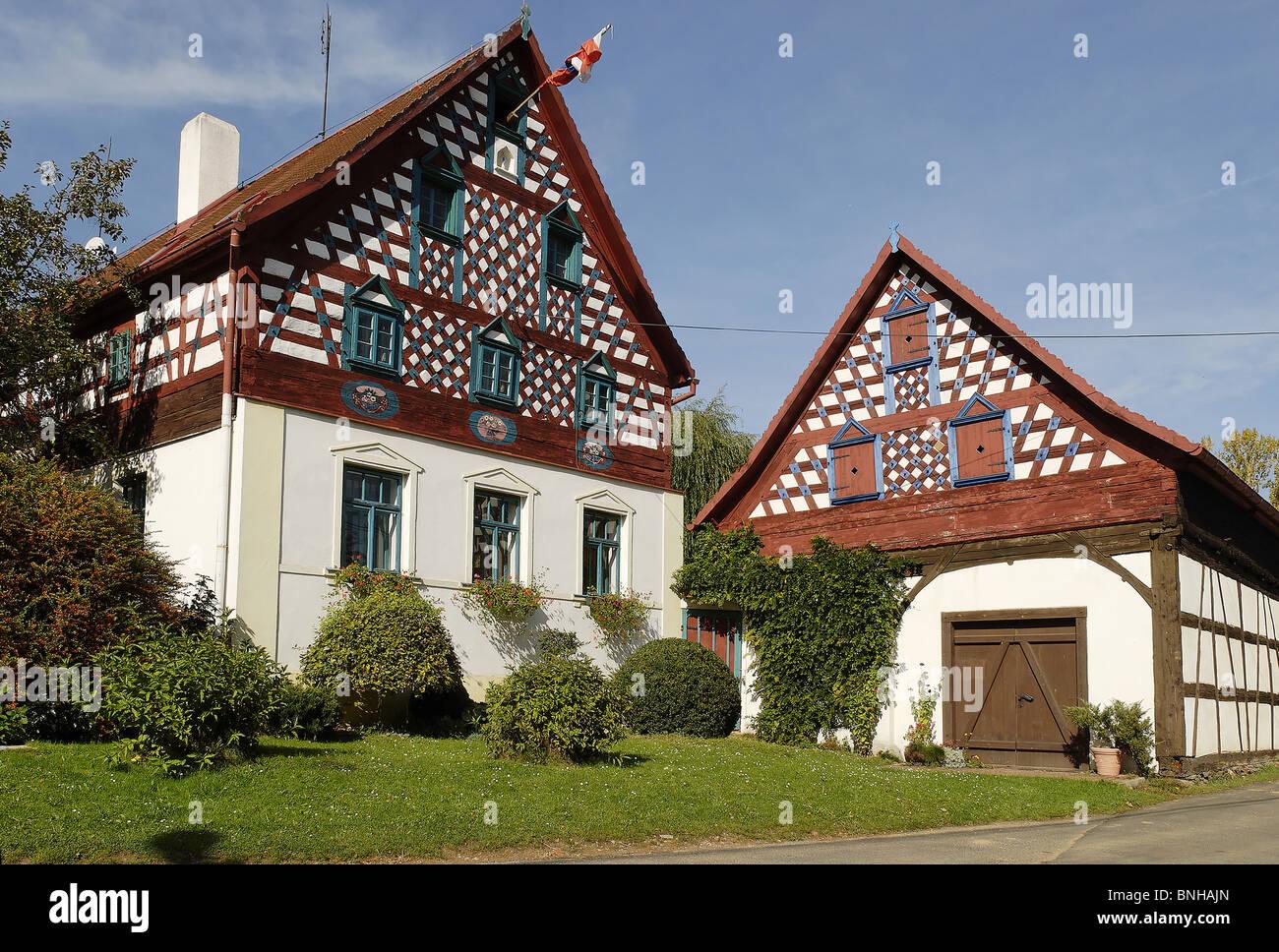 traditionelles bauernhaus doubrava egerland west b hmen. Black Bedroom Furniture Sets. Home Design Ideas