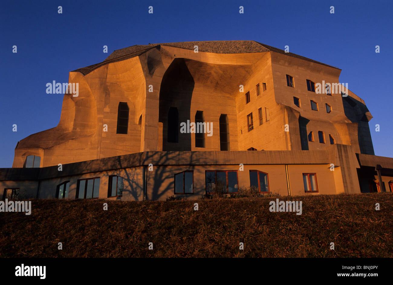 Rudolf Steiner Architektur europa schweiz kanton solothurn dornach goetheanum