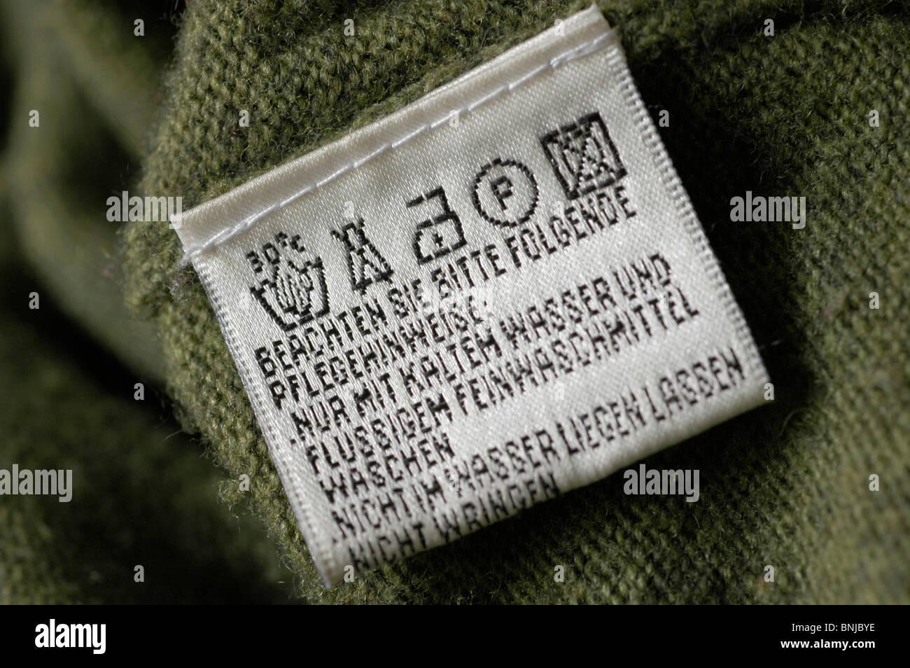 Maennerseiten wäschezeichen und pflegesymbole