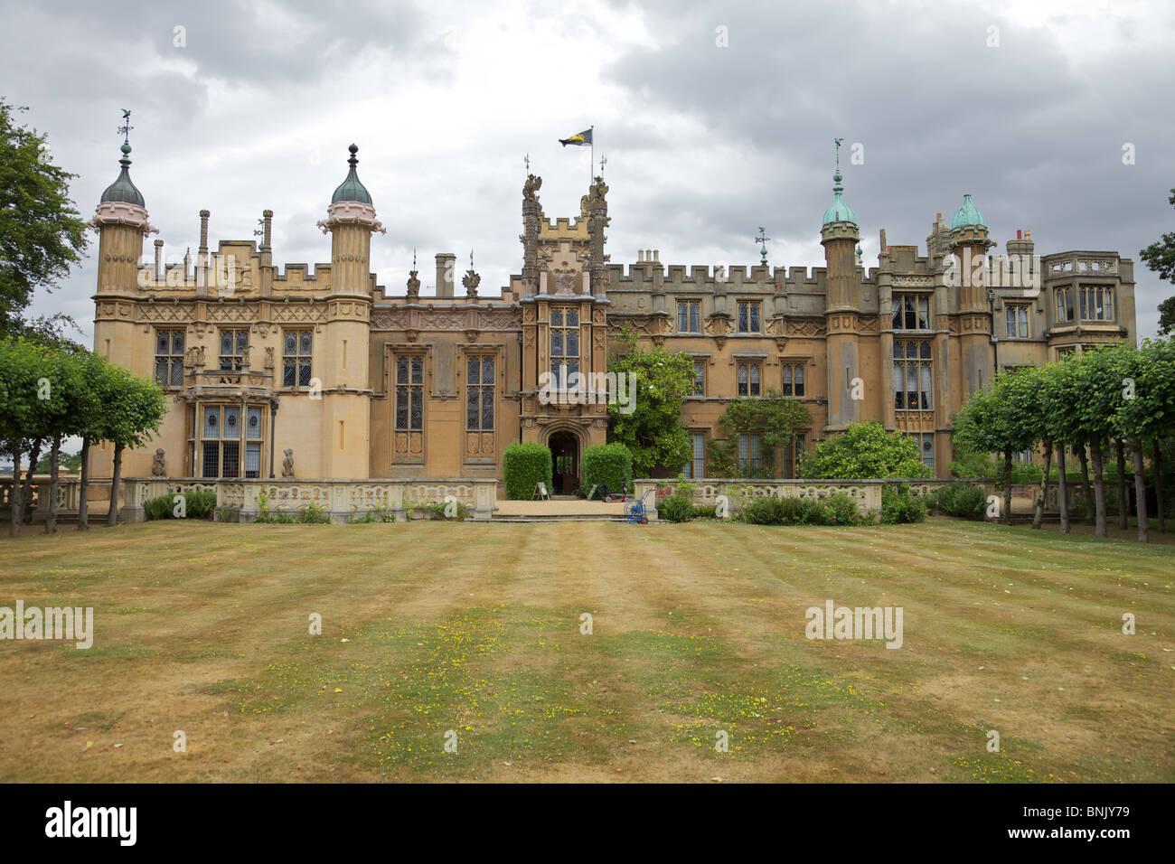 Knebworth House, Hertfordshire, England Haus von Herrn David Lytton Stockbild