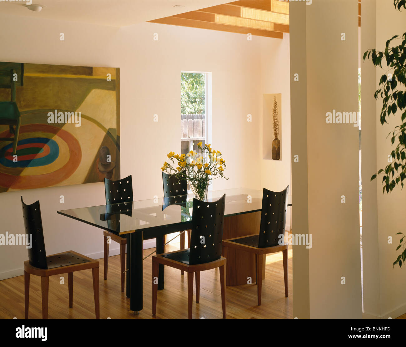 Interiors Dining Rooms Modern Pictures Stockfotos & Interiors Dining ...